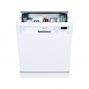 Neff N30 Semi-Integrated 60cm Dishwasher White S41E50W1GB