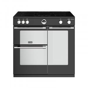 Stoves Sterling S900EI Induction Black 90 Range Cooker 444444487