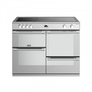 Stoves Sterling S1100EI Induction Stainless Steel 110 Range Cooker 444444508