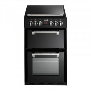 Stoves Richmond 550DFW Black Dual Fuel Mini Range Cooker