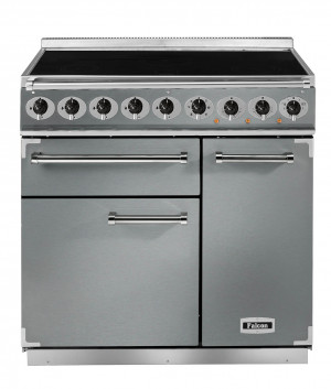 Falcon Deluxe 900 Induction Stainless Steel/Chrome Range Cooker