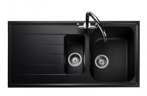Rangemaster Amethyst Igneous AME1052 Ash Granite Sink 47080
