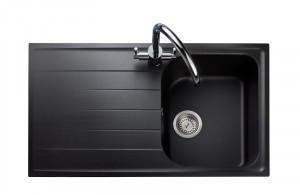 Rangemaster Amethyst Igneous AME860 Ash Granite Sink 47110