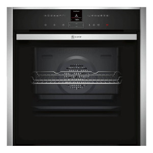 Neff N70 Slide & Hide Pyrolytic Single Oven With VarioSteam B57VR22N0B