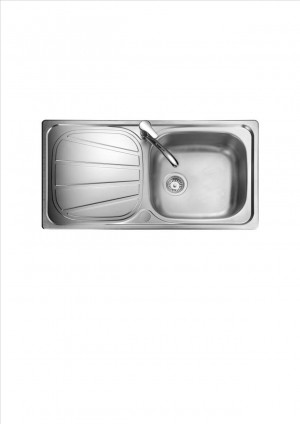 Rangemaster Baltimore Single Bowl Sink - BL8001