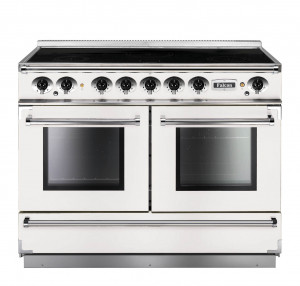 Falcon Continental 1092 Induction Ice White Range Cooker
