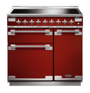 Rangemaster Elise 90 Induction Cherry Red Range Cooker ELS90EIRD/ 107880