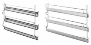Smeg 3 Level Telescopic Shelf Set