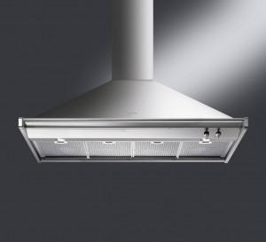 Smeg Opera 120 Stainless Steel Chimney Hood