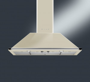 Smeg Victoria KT110PE 110 Cream Chimney Hood