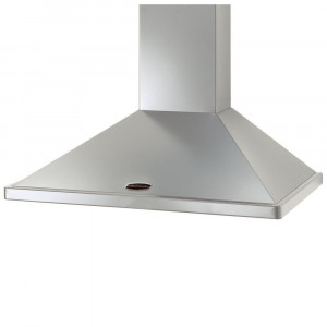 Rangemaster 110cm Chimney Cooker Hood Stainless Steel with Chrome Trim LEIHDC110SC/ 89350