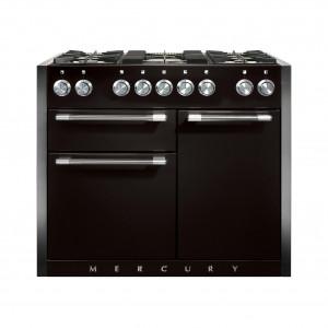Mercury MCY1082DF Dual Fuel Ash Black Range Cooker
