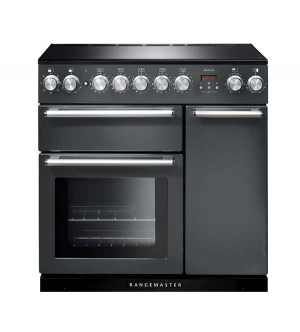 Rangemaster Nexus 90 Induction Slate Range Cooker NEX90EISL/C 106180