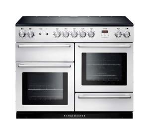 Rangemaster Nexus 110 Induction White Range Cooker NEX110EIWH/C 106170