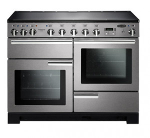 Rangemaster Professional Deluxe 110 Induction Stainless Steel Range Cooker PDL110EISS/C 101540