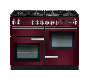 Rangemaster Professional Plus 110 Natural Gas Cranberry Range Cooker PROP110NGFCY/C 91990