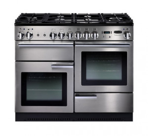 Rangemaster Professional Plus 110 Natural Gas Stainless Steel Range Cooker  PROP110NGFSS/C 86860