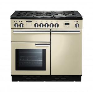 Rangemaster Professional Plus 100 Dual Fuel Cream Range Cooker PROP100DFFCR/C 92610
