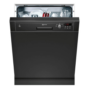 Neff N30 Semi-Integrated 60cm Dishwasher Black S41E50S1GB