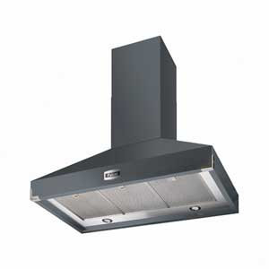 Falcon 900 Super Extract Slate/Nickel Cooker Hood