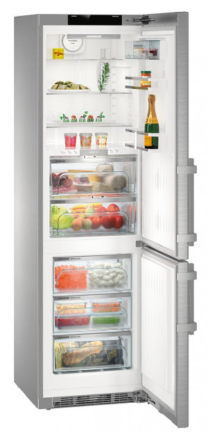 Liebherr CBNPes 4858 Premium Stainless Steel Fridge Freezer