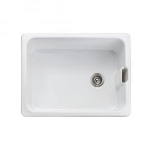 Rangemaster Farmhouse Belfast CFBL595WH White Ceramic Sink