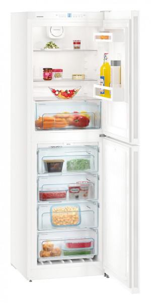 Liebherr CN4213 Freestanding NoFrost White Fridge Freezer