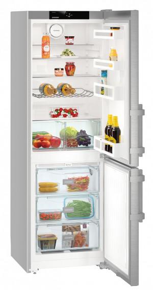 Liebherr CNef 3515 Comfort Silver Fridge Freezer