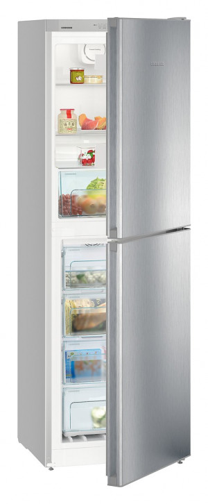 Liebherr CNel4213 Freestanding NoFrost Silver Fridge Freezer