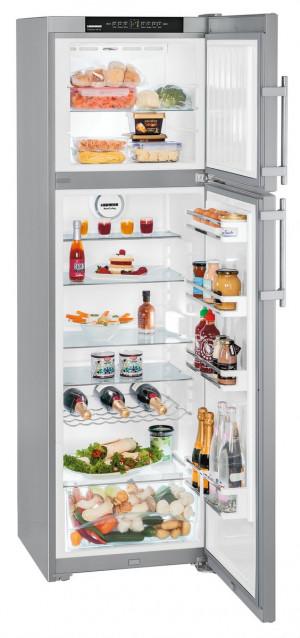 Liebherr CTNesf 3663 Premium Silver Fridge Freezer