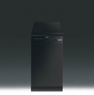 Smeg D4B-1 Freestanding 45cm Black Dishwasher