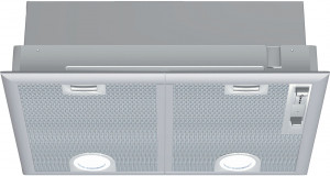 Neff N30 53cm Silver Metallic Canopy Hood D5655X1GB