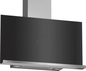 Neff N70 90cm Black Glass Creative Slimline Hood D95FRM1S0B