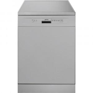 Smeg 60cm Silver Freestanding Dishwasher DF612SVE
