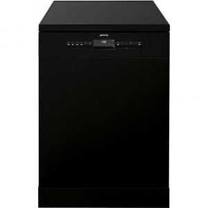 Smeg 60cm Black Freestanding Dishwasher DF613PBL