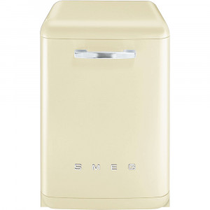 Smeg 60cm Cream 50's Style Freestanding Dishwasher DF6FABCR