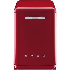 Smeg 60cm Red 50's Style Freestanding Dishwasher DF6FABRD