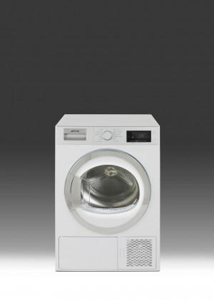 Smeg DHT81LUK Freestanding White Condenser Dryer
