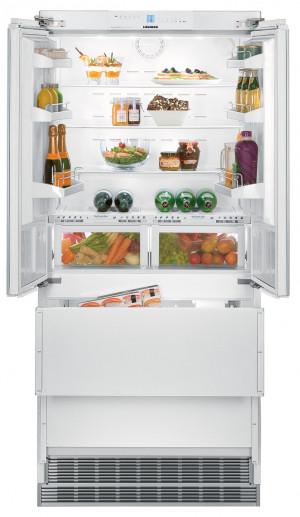 Liebherr ECBN6256 White Freestanding NoFrost Double Door Fridge Freezer
