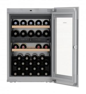 Liebherr EWTgb1683 Vinidor Black Built-In Wine Cooler