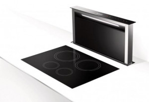 Faber Fabula Black Downdraft Hood
