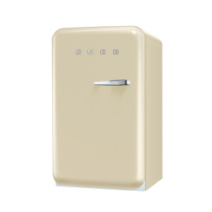 Smeg FAB10LP 50's Retro Style Cream Fridge with Ice Box