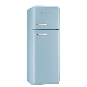 Smeg FAB30RFA 50's Retro Style Pastel Blue Fridge Freezer