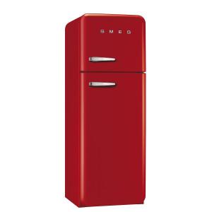 Smeg FAB30RFR 50's Retro Style Red Fridge Freezer