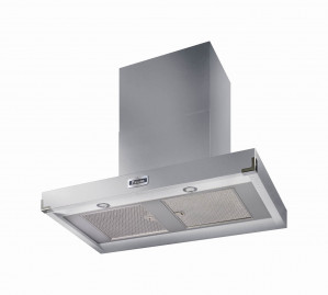 Falcon 900 Contemporary Stainless Steel Chrome Cooker Hood