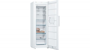 Bosch Serie 4 GSN33VW3PG No Frost Freestanding White Upright Freezer