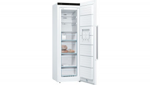 Bosch Serie 6 GSN36AWFPG No Frost Freestanding White Upright Freezer