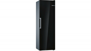 Bosch Serie 4 GSN36VB3PG No Frost Freestanding Black Upright Freezer