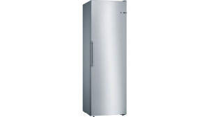 Bosch Serie 4 GSN36VL3PG No Frost Freestanding Stainless Steel Upright Freezer