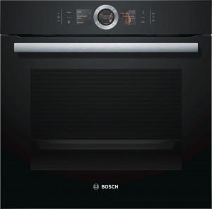 Bosch Serie 8 HBG656RB1B Black Built-in Oven